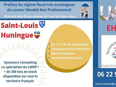 Logement EHPAD A VENDRE - ST LOUIS - 20,54 m2 - 99894 €