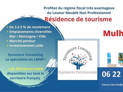 Résidence de Tourisme A VENDRE - MULHOUSE - 15,03 m2 - 56565 €
