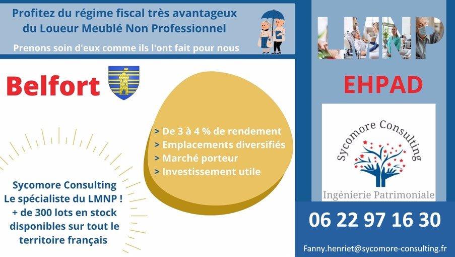 Logement EHPAD A VENDRE - BELFORT - 20,54 m2 - 99894 €