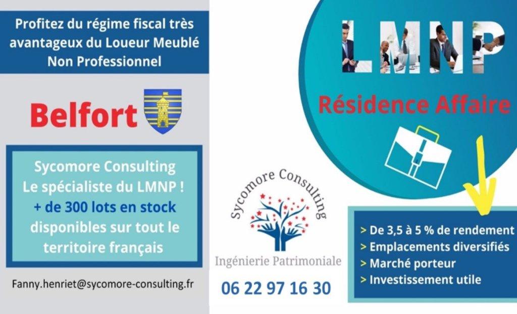 Résidence Affaire A VENDRE - BELFORT - 19,1 m2 - 101768 €