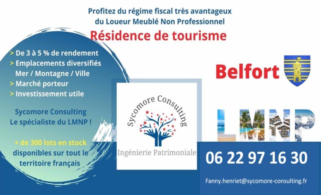 Résidence de Tourisme A VENDRE - BELFORT - 15,03 m2 - 56565 €