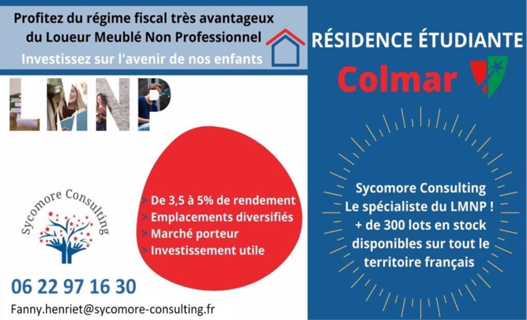 Résidence étudiante A VENDRE - COLMAR - 18,01 m2 - 59368 €
