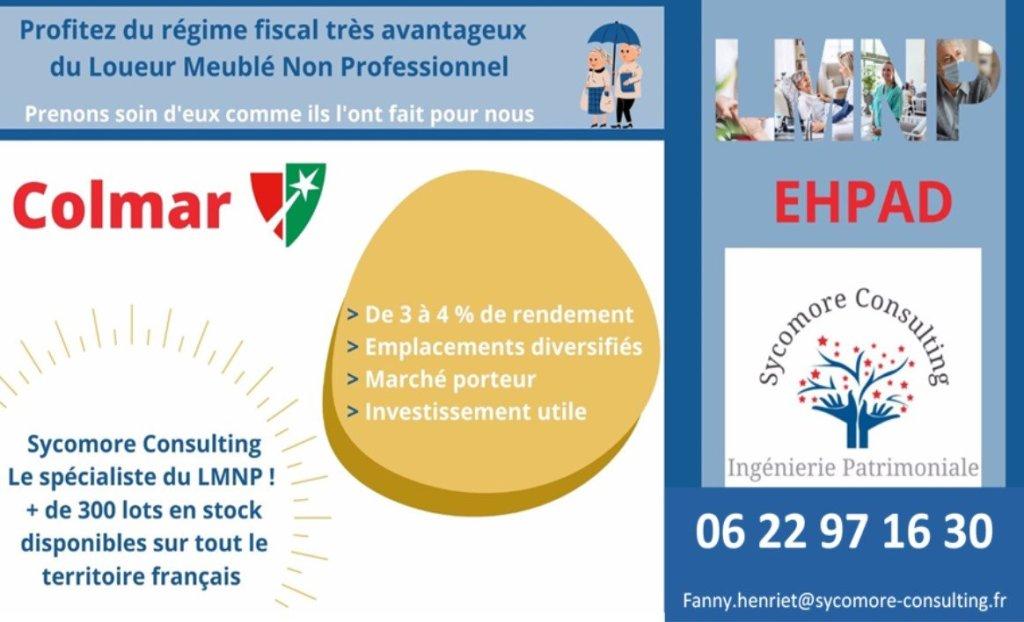 Logement EHPAD A VENDRE - COLMAR - 20,54 m2 - 99894 €