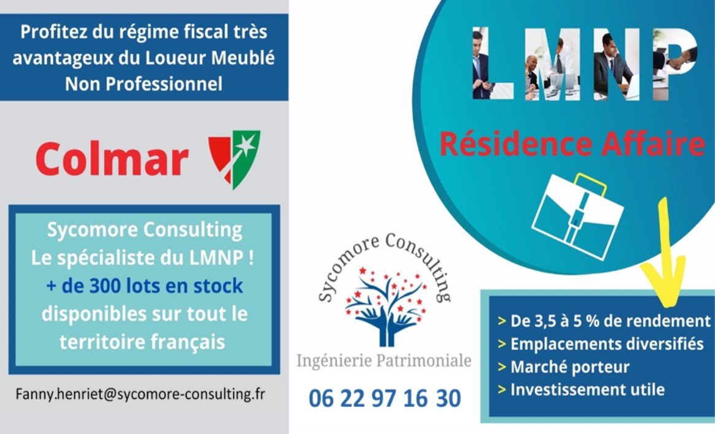 Résidence Affaire A VENDRE - COLMAR - 19,1 m2 - 101768 €