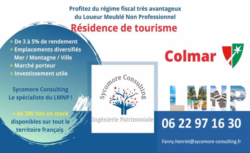 Résidence de Tourisme A VENDRE - COLMAR - 15,03 m2 - 56565 €