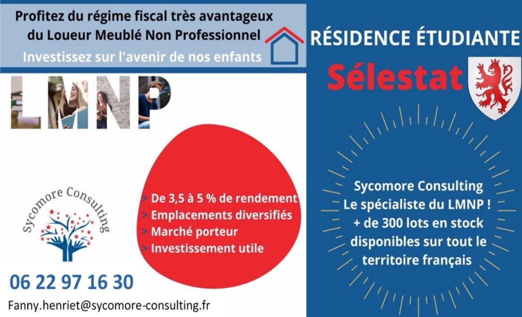 Résidence étudiante A VENDRE - SELESTAT - 18,01 m2 - 59368 €