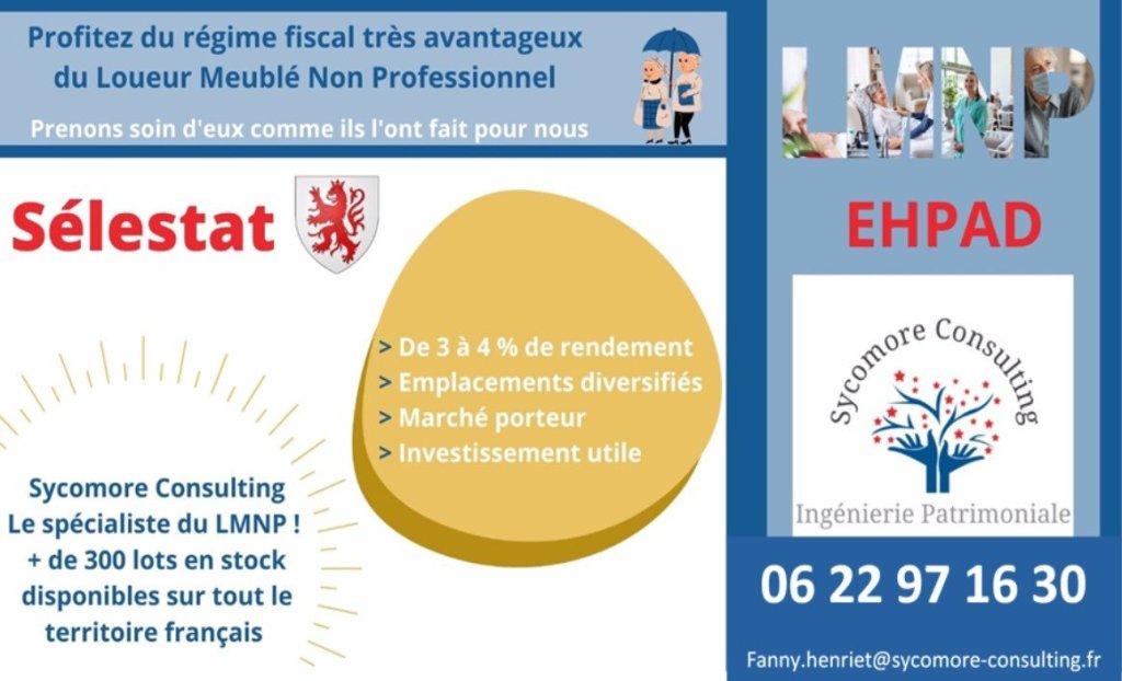 Logement EHPAD A VENDRE - SELESTAT - 20,54 m2 - 99894 €