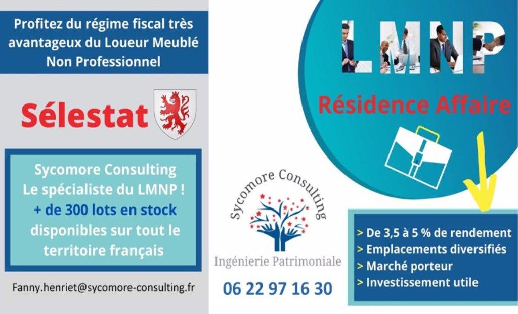 Résidence Affaire A VENDRE - SELESTAT - 19,1 m2 - 101768 €