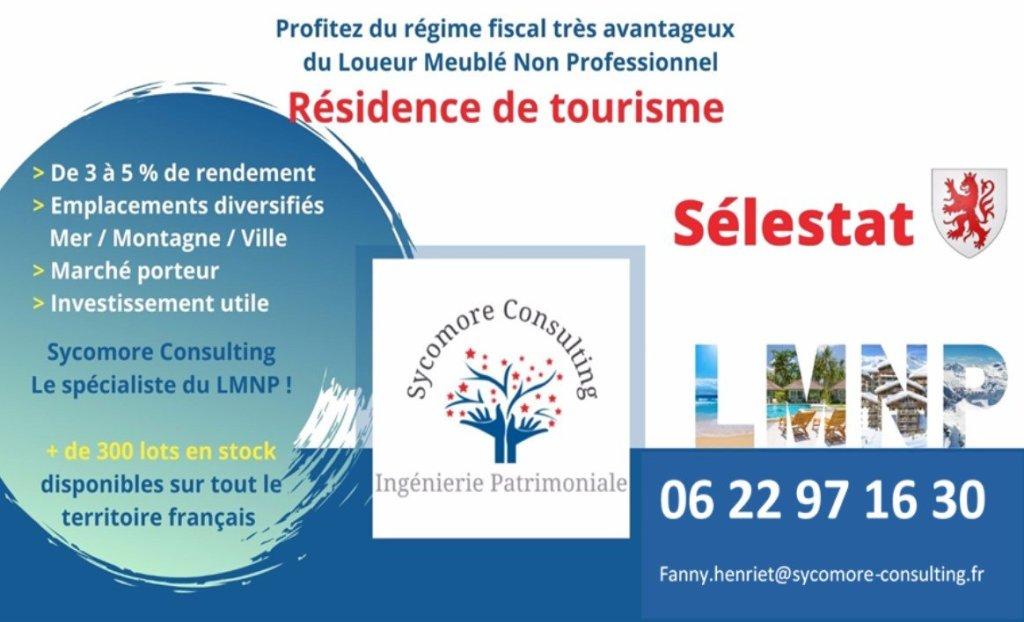 Résidence de Tourisme A VENDRE - SELESTAT - 15,03 m2 - 56565 €