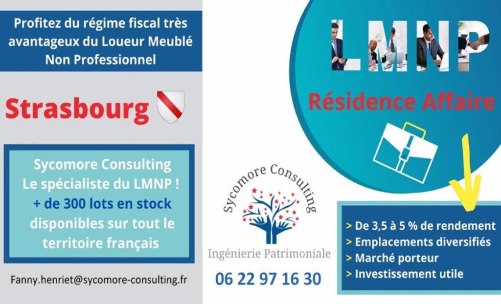 Résidence Affaire A VENDRE - STRASBOURG - 19,1 m2 - 101768 €