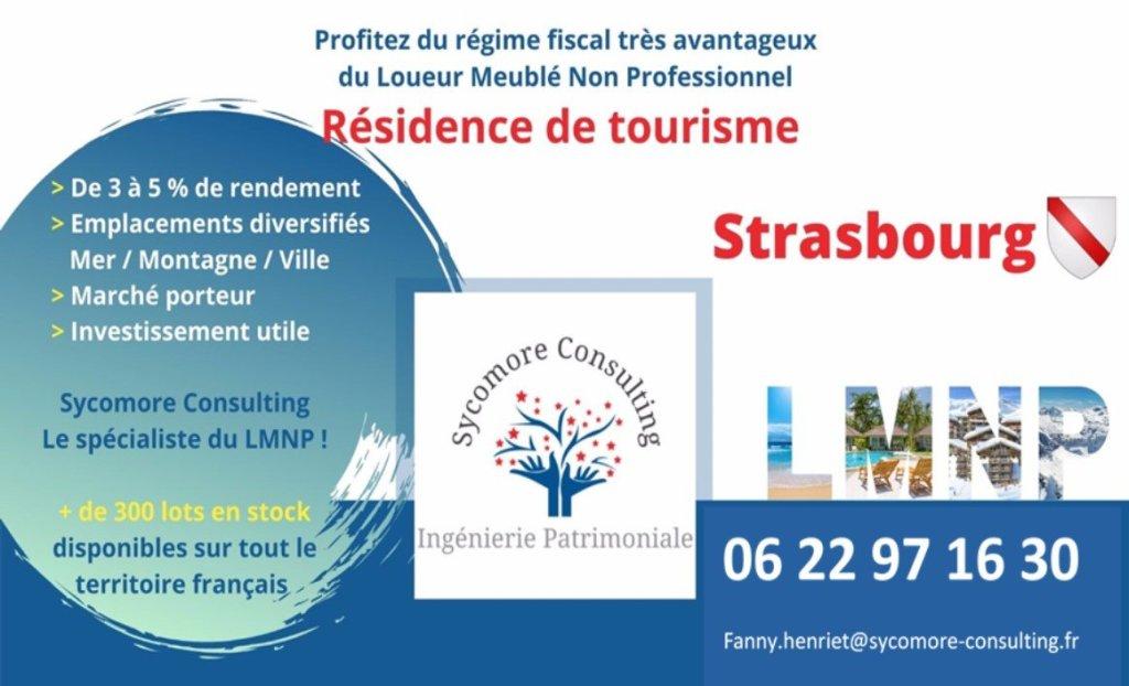 Résidence de Tourisme A VENDRE - STRASBOURG - 15,03 m2 - 56565 €